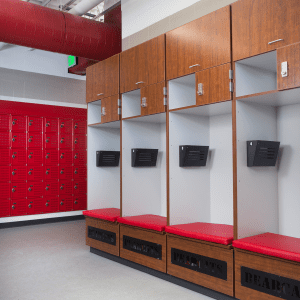 Athletic Football lockerroom