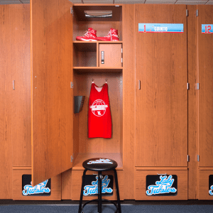 Athletic Basketball locker