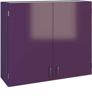 purple hutch cabinet image