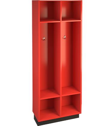 red locker cabinet image