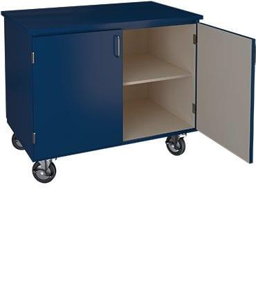 blue mobile cabinet image