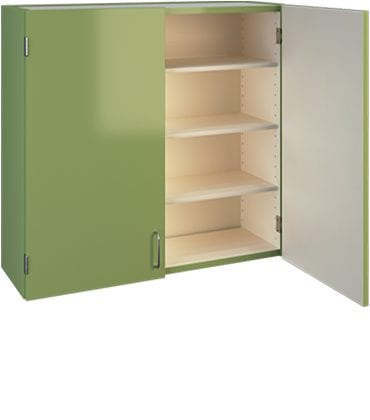 green wall cabinet image