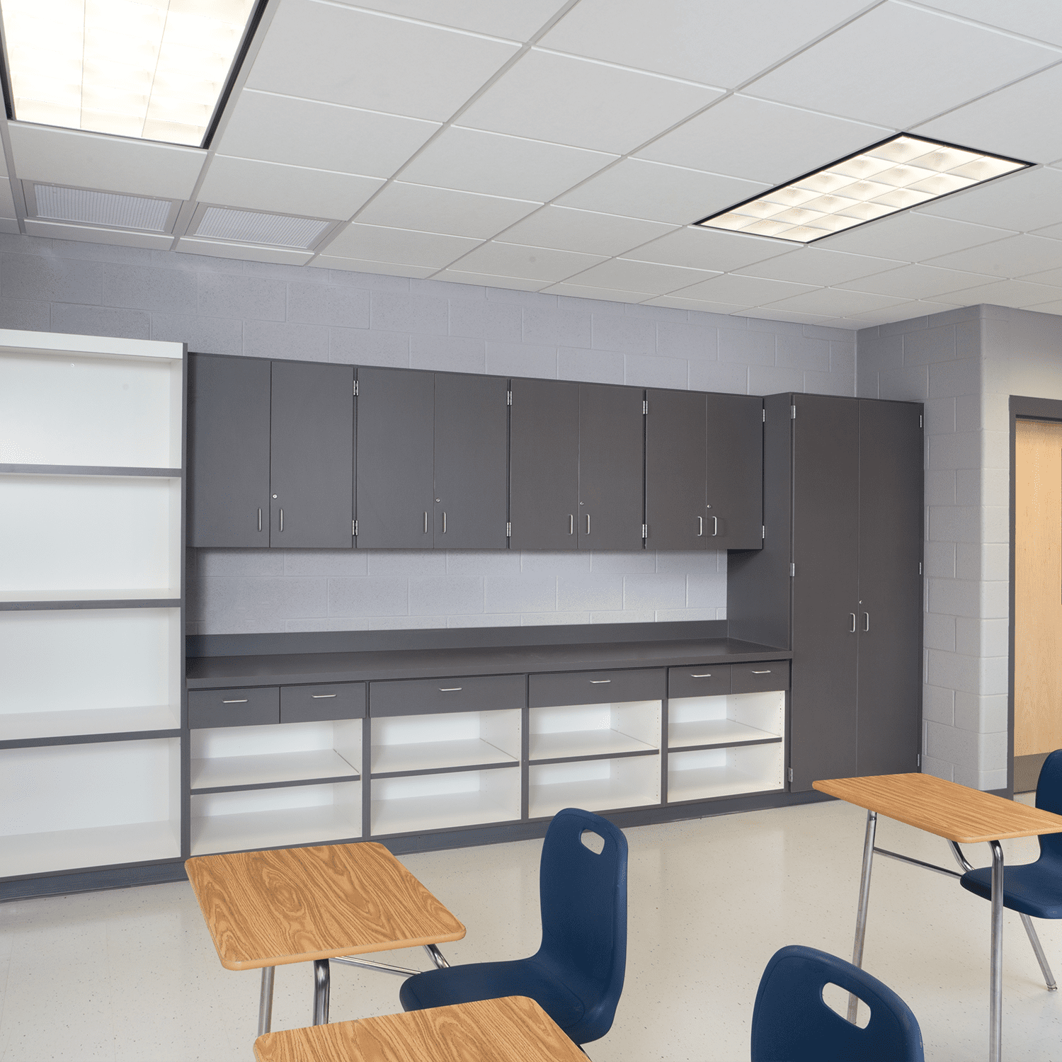 architectural casework for classrooms