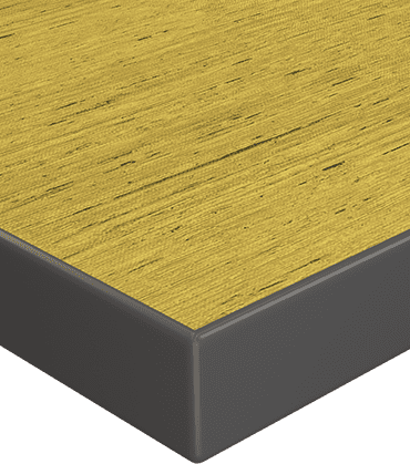 Attrayant High Pressure Laminate Surface With 3mm Edge