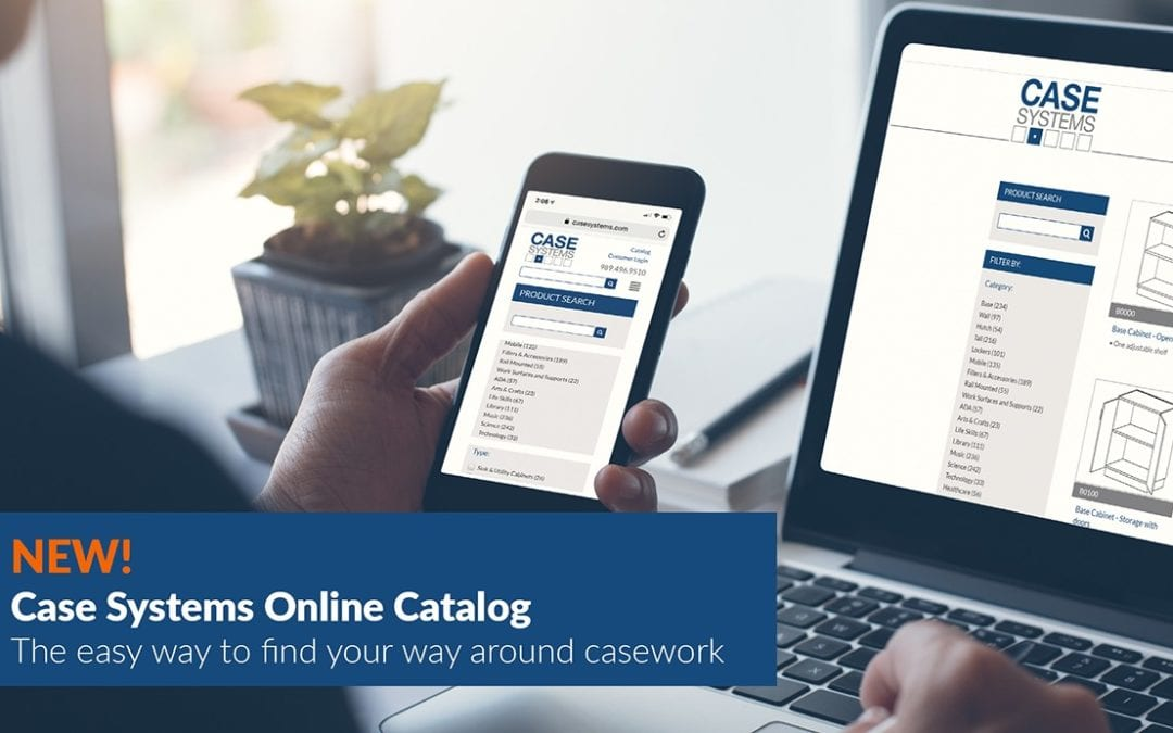Case Systems Introduces New Online Catalog for Laminate Casework