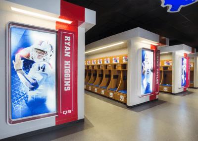 team lockers