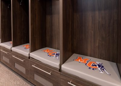Athletic Locker Branding