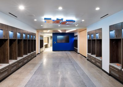 Athletic Locker Room