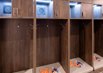 Athletic Team Locker features