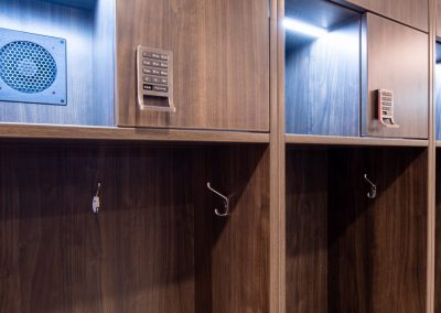 Athletic Lockers digital lock