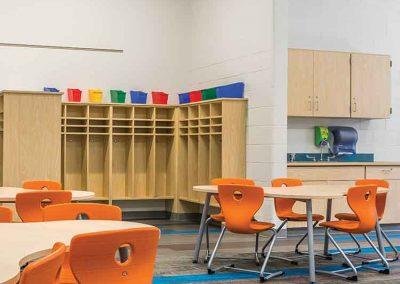 Classroom cubbies