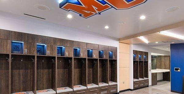 Athletic Locker Room